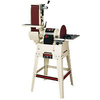 Jet® Combination 6'' x 48'' Belt & 12'' Disc Sander w/Open Stand