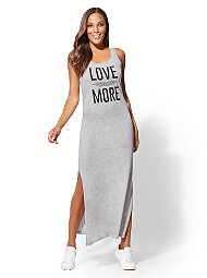 Display product reviews for Soho Street - Graphic Maxi Tank Dress