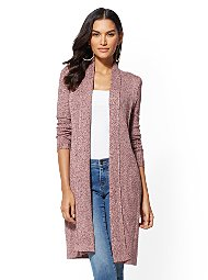 Display product reviews for Marled Duster Cardigan