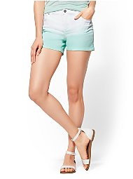Display product reviews for Soho Jeans - Ombre 4-Inch Bowery Short