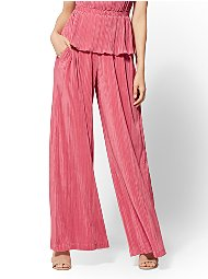 Display product reviews for 7th Avenue Pant - Pleated Wide-Leg Pant
