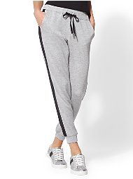 Display product reviews for Soho Street - Grey Stripe Jogger Pant