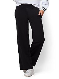Display product reviews for Soho Street - Wide-Leg Pant - Black