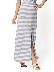 Display product reviews for Soho Street - Stripe Maxi Skirt
