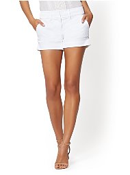 Display product reviews for 7th Avenue - White 4 Inch Short - Signature