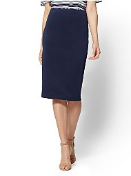 Display product reviews for 7th Avenue - Pull-On Pencil Skirt