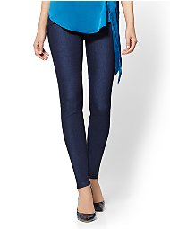 Display product reviews for 7th Avenue Pant - High-Waist Pull-On Legging - Navy