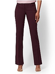 Display product reviews for 7th Avenue Petite Pant - Straight Leg - Signature - All-Season Stretch