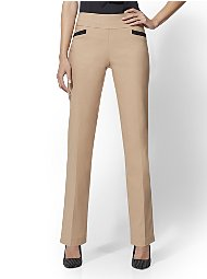 Display product reviews for 7th Avenue Pant - Camel Pull-On Straight Leg
