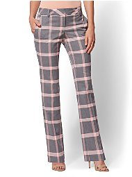 Display product reviews for 7th Avenue Pant - Plaid Straight Leg - Signature