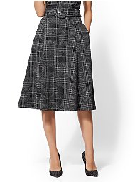 Display product reviews for 7th Avenue - Plaid Full Skirt