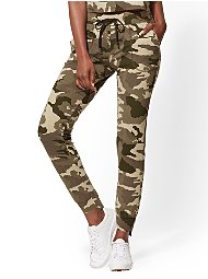 Display product reviews for Soho Street - Camo Step-Hem Jogger Pant
