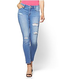 Display product reviews for Soho Jeans - NY&C Runway - Super Stretch - Destroyed Curvy Legging