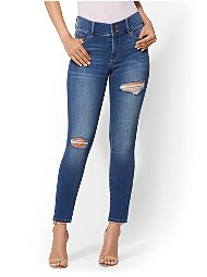 Display product reviews for Soho Jeans - NY&C Runway - Super Stretch - High-Waist Curvy Legging