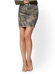 Display product reviews for Soho Jeans - Camo Mini Skirt