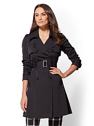 Display product reviews for 7th Avenue - Belted Trench Coat
