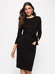 Display product reviews for Belted Sweater Dress