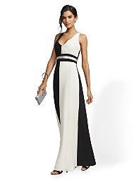 Display product reviews for Colorblock Maxi Dress