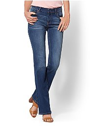 Display product reviews for Soho Jeans - Tall Curvy Bootcut - Force Blue