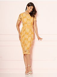 Display product reviews for Eva Mendes Collection - Romina Sheath Dress