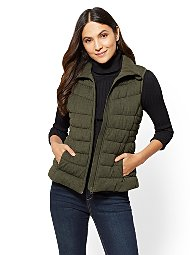 Display product reviews for Knit Puffer Vest