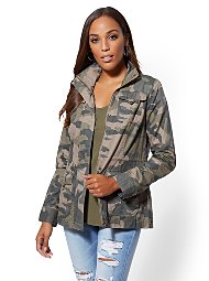Display product reviews for Camouflage Anorak Jacket