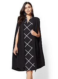 Display product reviews for Black Cape Jacket