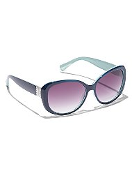Display product reviews for Metallic-Trim Sunglasses