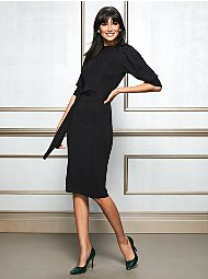Display product reviews for Eva Mendes Collection - Elisabeth Sweater Dress