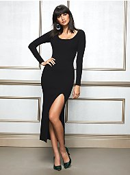 Display product reviews for Eva Mendes Collection - Maxine Sweater Dress