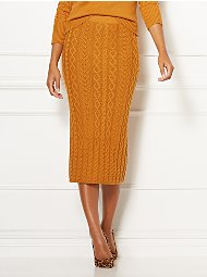 Display product reviews for Eva Mendes Collection - Shania Sweater Skirt