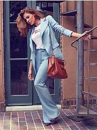 Display product reviews for Eva Mendes Collection - Tall Peyton Blazer