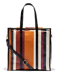 Display product reviews for Eva Mendes Collection - Stripe Tote Bag
