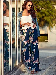 Display product reviews for Sweet Pea - Floral Palazzo Pant