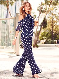 Display product reviews for Sweet Pea - Navy Dot Palazzo Pant