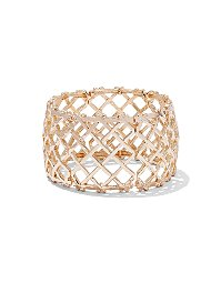 Display product reviews for Crisscross Stretch Cuff Bracelet