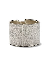Display product reviews for Glitter Cuff Bracelet