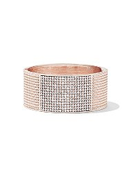 Display product reviews for Textured Pave Cuff Bracelet