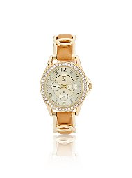 Display product reviews for Pave Twist Band Watch