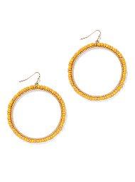 Display product reviews for Beaded Hoop Earring