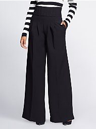 Display product reviews for Gabrielle Union Collection - Black Corset Palazzo Pant