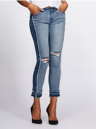 Display product reviews for Gabrielle Union Collection - Tall Destroyed Boyfriend Jean