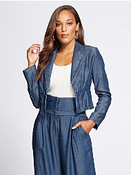 Display product reviews for Gabrielle Union Collection - Tall Corset Jacket